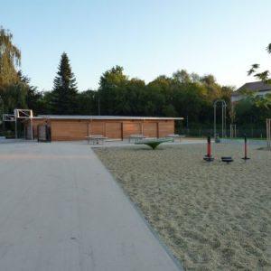 Mittelschulpausenhof  Ost
